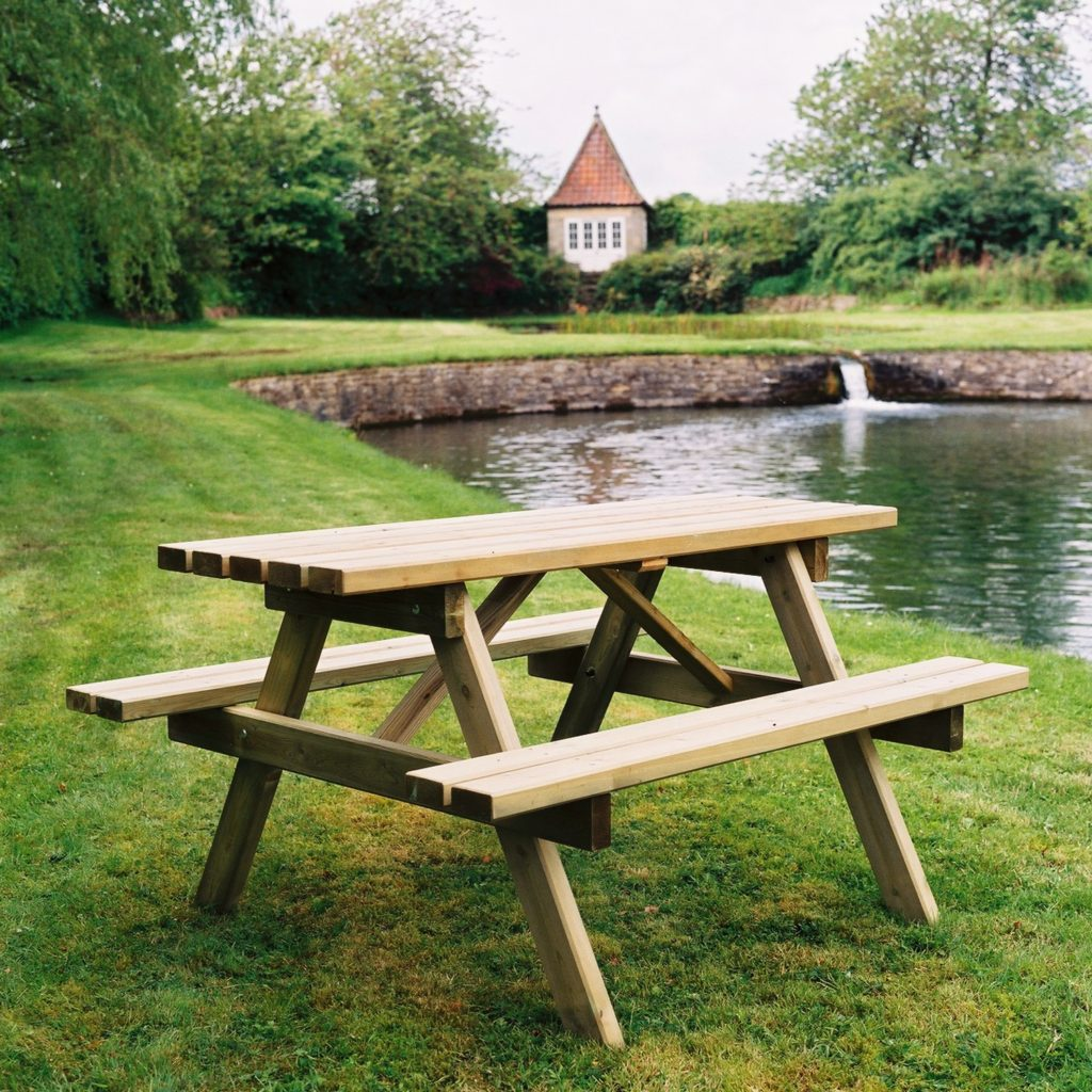 Wooden Picnic Tables Duncombe Sawmill Local And Uk