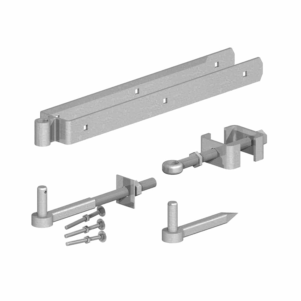 adjustable gate hanging kit