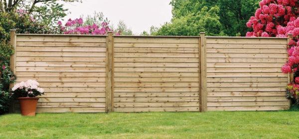 plain fence panel