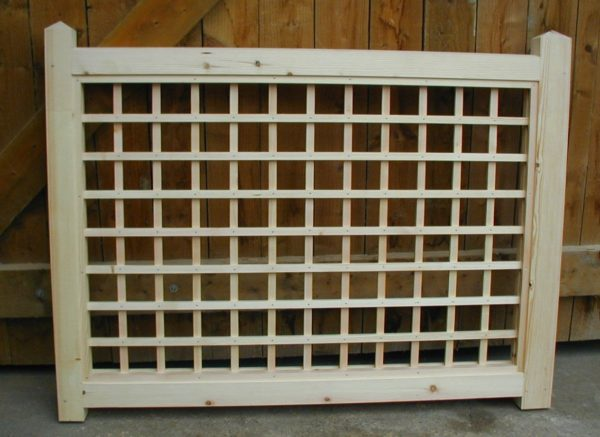 Made to measure fence panel