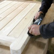 Making boarded gates