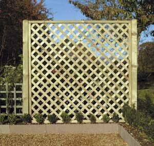 heavy duty diamond lattice panel
