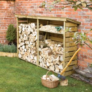 timber log store
