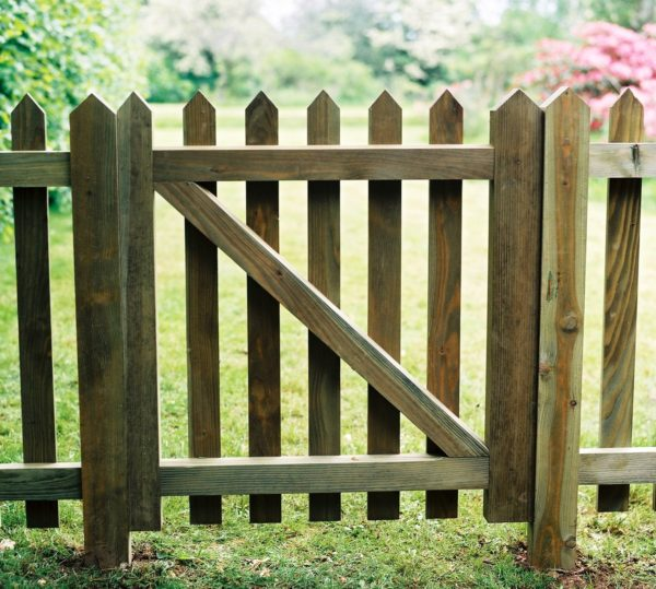 Wooden Strong Paling Gates Picket Gatess Duncombe