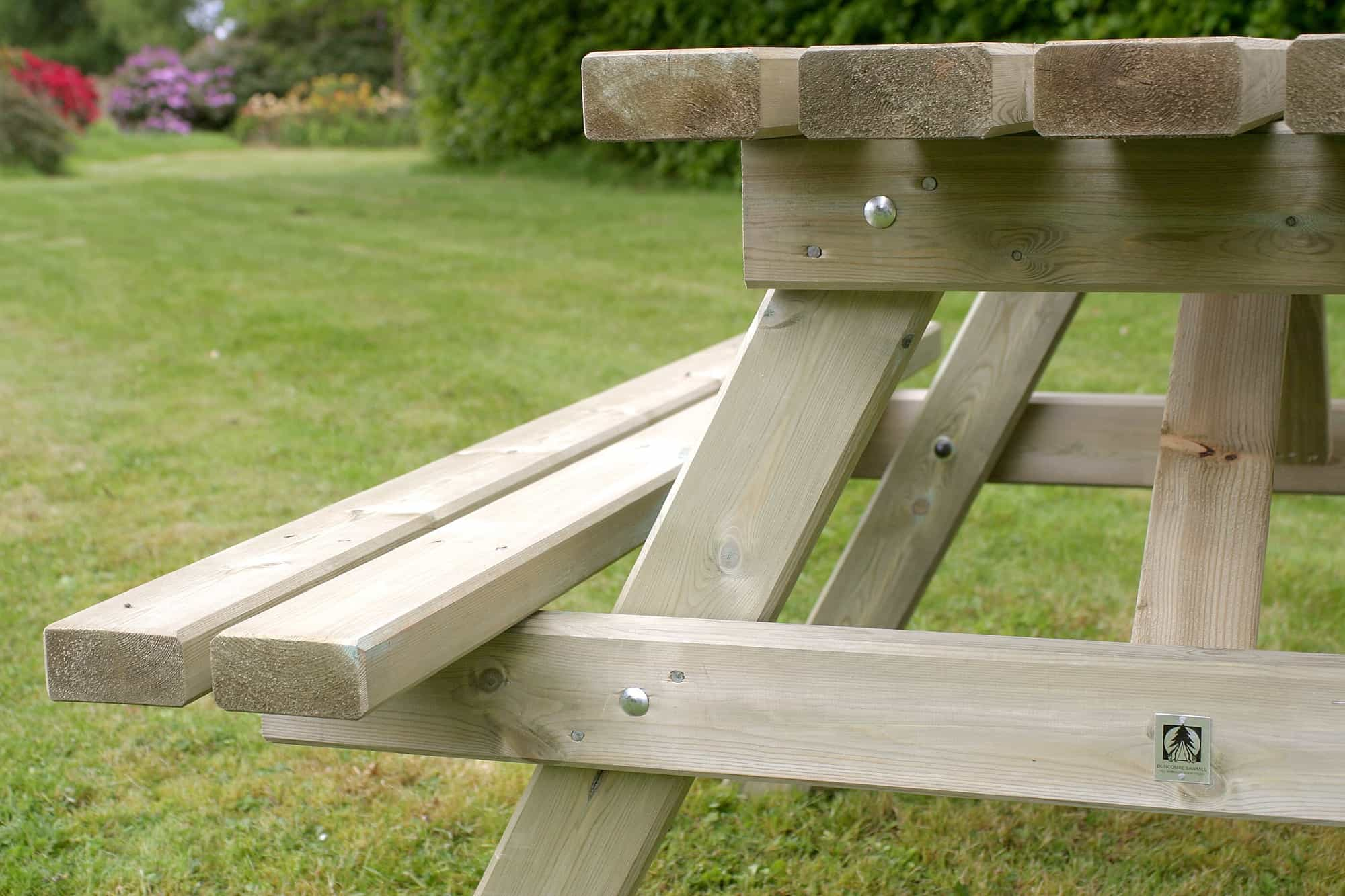 wooden picnic tables duncombe sawmill local and uk. Black Bedroom Furniture Sets. Home Design Ideas