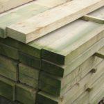 wooden rail