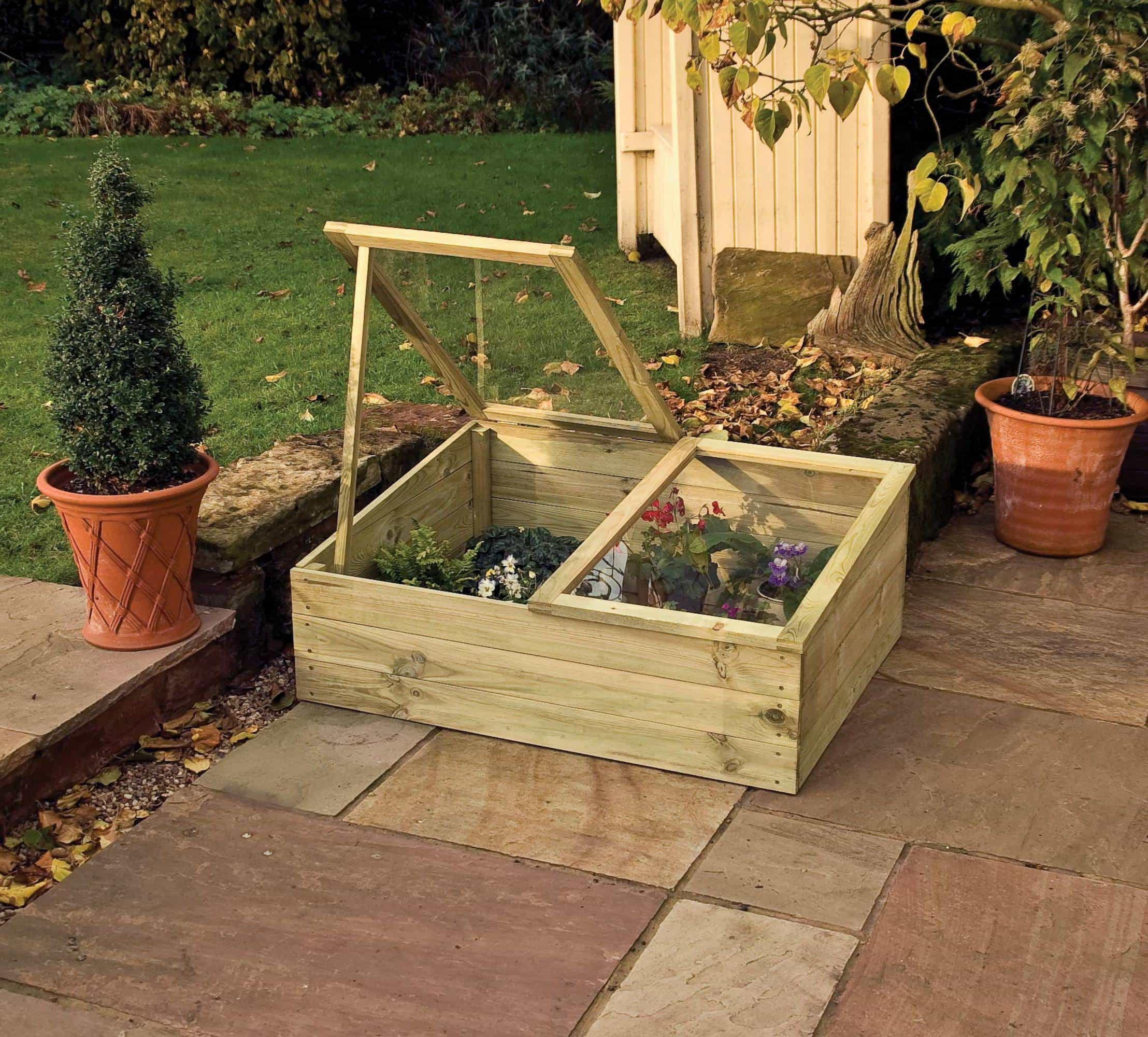 Wooden Cold Frames - Duncombe Sawmill, local and UK delivery from ...