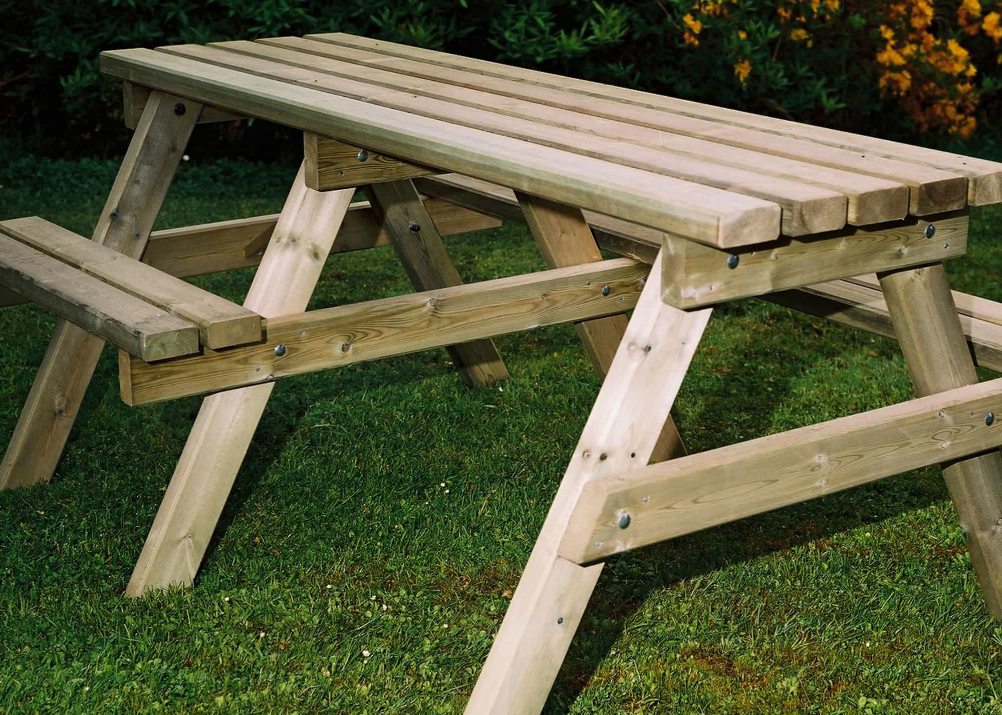 Wooden Wheelchair Access Picnic Tables Duncombe Sawmill Local And - Wheelchair picnic table