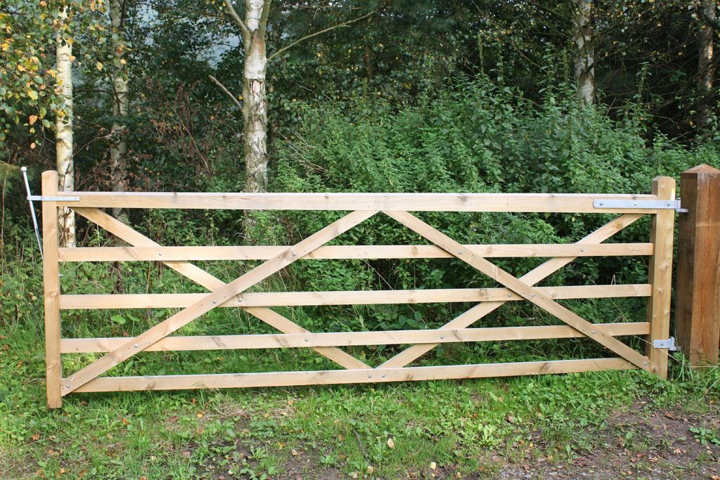 Wooden Field Gates And Equestrian Gatess Duncombe