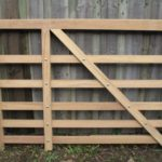 oak 5 bar gate