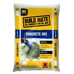 Bag of concrete mix