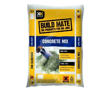 Bag of concrete mix