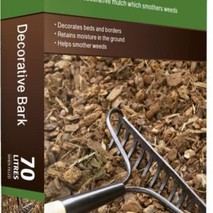 Bag of bark chippings