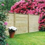straight fence panel