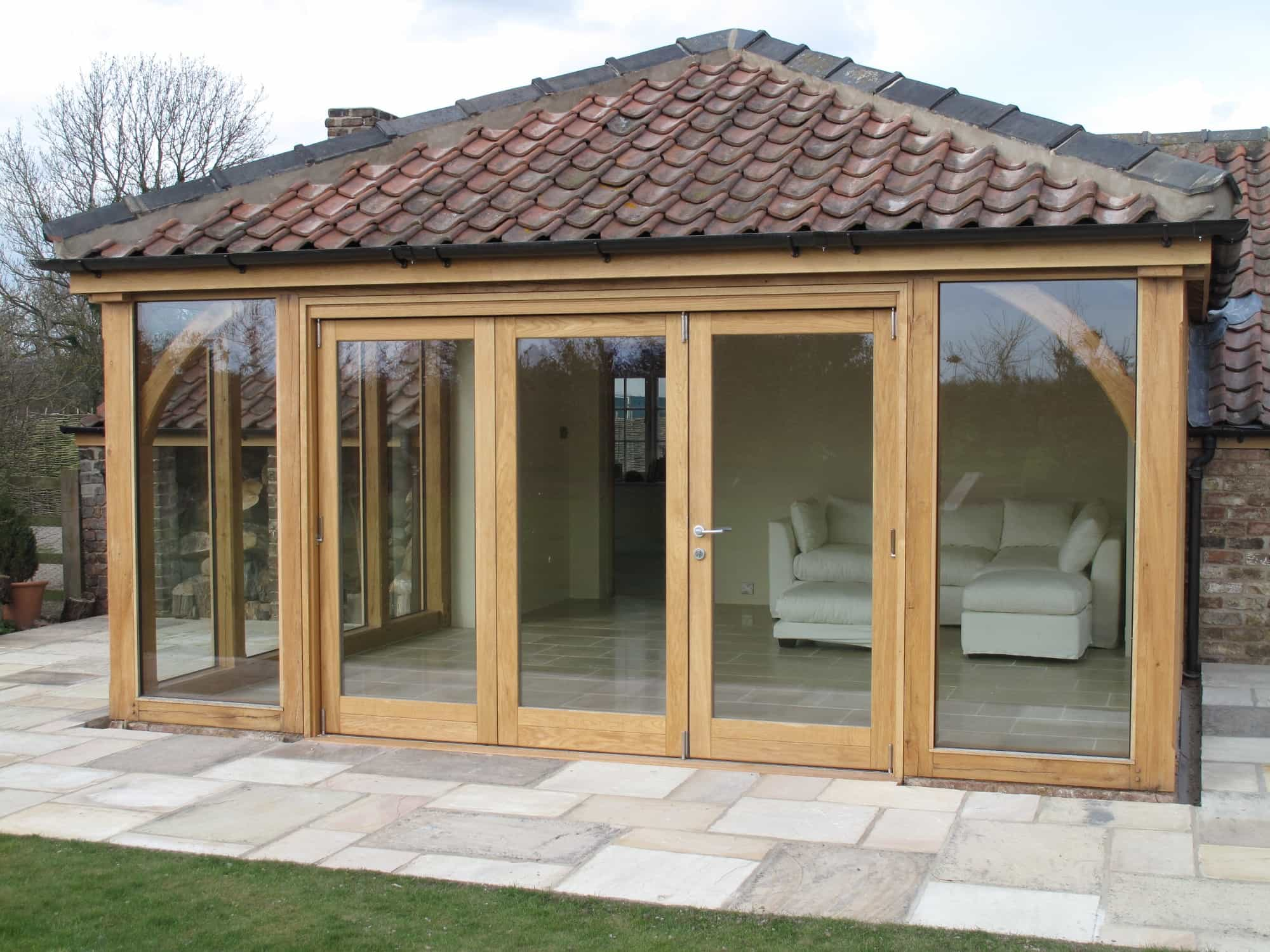 Exceptional Oak Framed Garden Room
