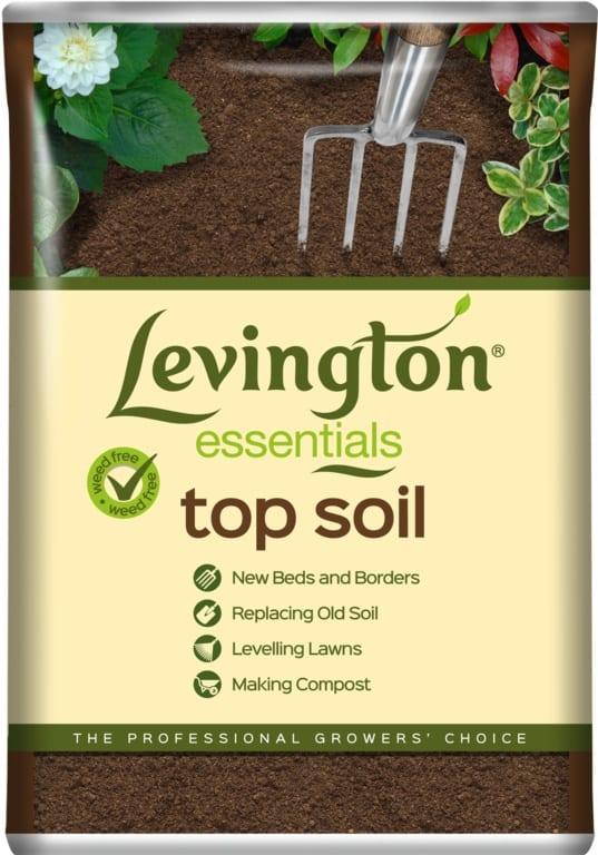 Bag of top soil