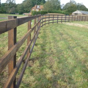 creosoted fencing