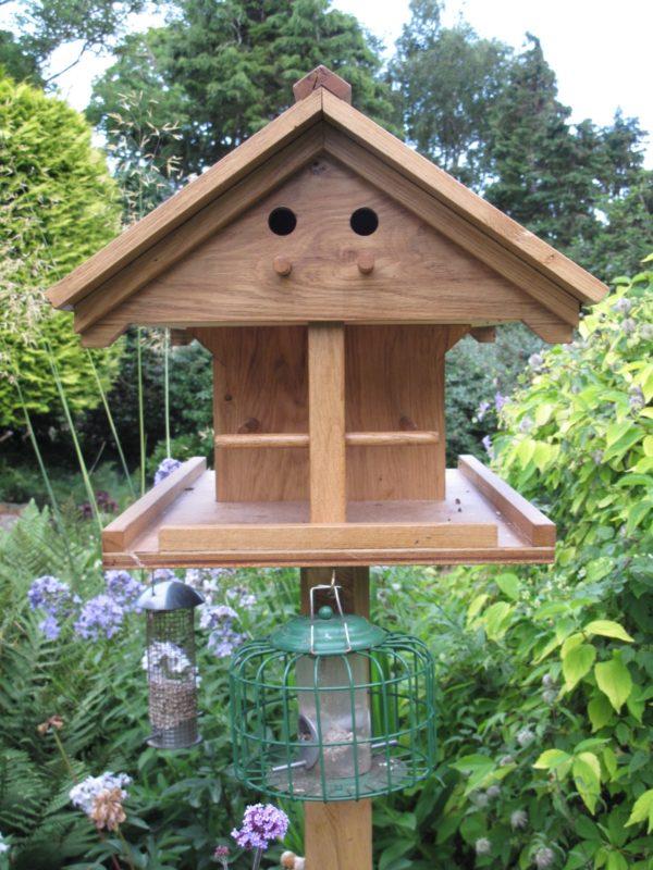 oak table for birds