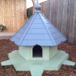 painted duck house