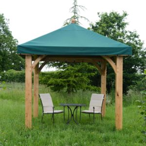 oak framed gazebo