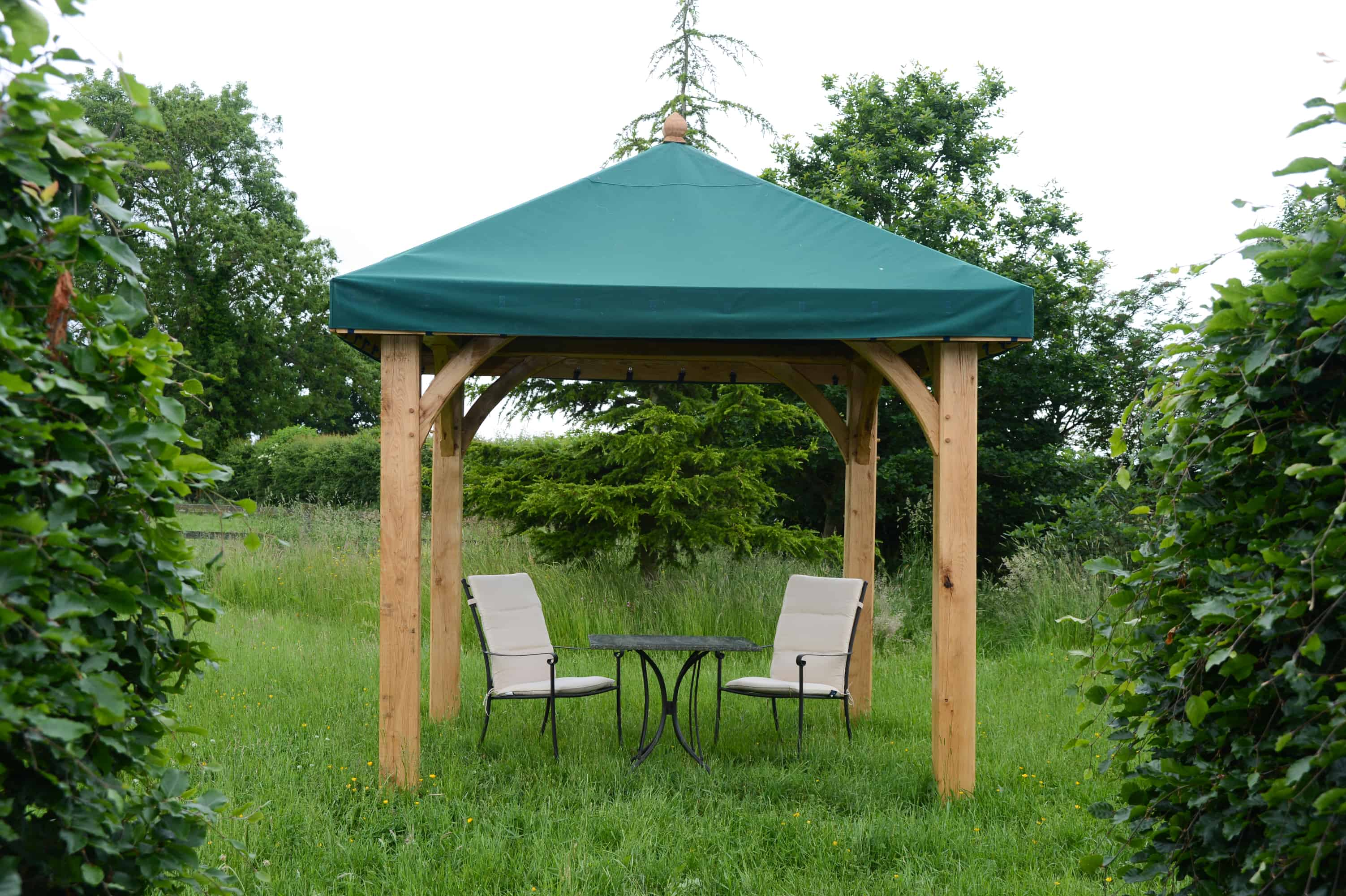 Wooden Timber Framed Gazebos - Duncombe Sawmill, local and