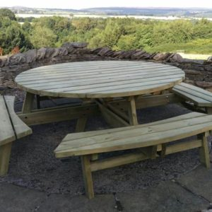 Bespoke picnic table