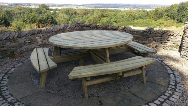Bespoke picnic table