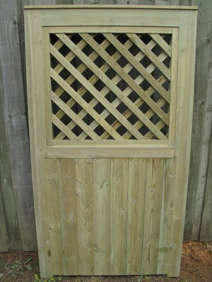 Trellis and Panel Doors